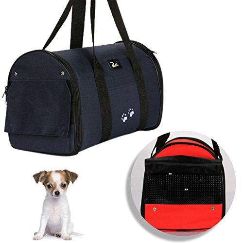 Zhaoke Hundetragetasche Katzentragetasche Transporttasche katze flugzeug Transportbox für Kleine Hunde und Katzen