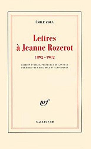 Lettres  Jeanne Rozerot: (1892-1902)