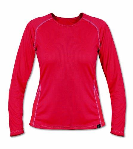 Páramo Cambia T-shirt de sport respirant à manches longues pour femme rouge - Rouge