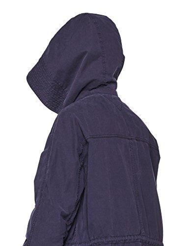 Tommy Hilfiger Damen Mantel Bessie Gmd Parka Blau (Peacoat 443)