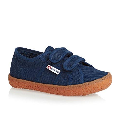 Superga Kinder-Unisex 2750-Naked Covj Niedrige Sneaker Blau