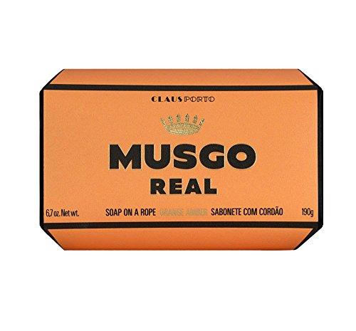MUSGO REAL SOAP ORANGE AMBER 190GR