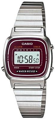 Casio LA670W4D - Reloj de Señora metálico Marrón / Plata
