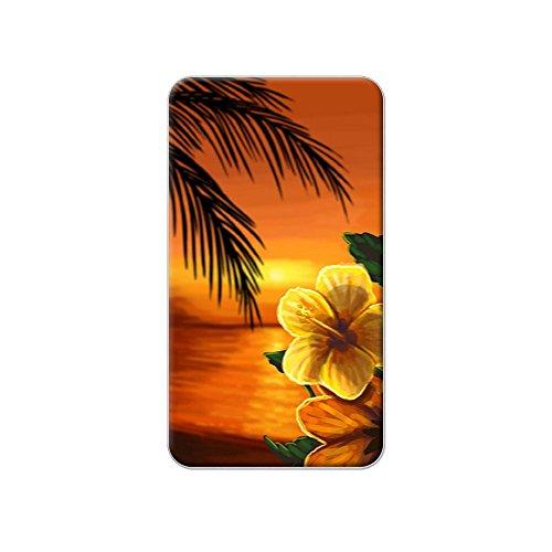 Beach Sunset–Hibiskus Blume Palm Tree Ocean Hawaii Urlaub Metall Revers Hat Shirt Handtasche Pin Krawattennadel Pinback (Reverse-hawaii-shirt)