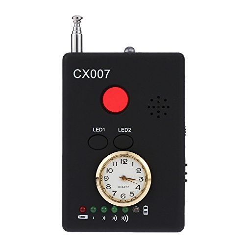Wireless Camera Finder (kkmoon Bewegungsmelder Radio-Signal Wireless RF Multifunktionale, automatische Erkennung Kamera Tracker Finder, Serie 1mhz-6.5ghz, Empfindlichkeit verstellbar)
