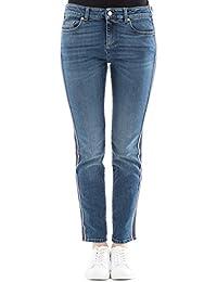 Alexander Mcqueen Femme 501957QKM034340 Bleu Coton Jeans
