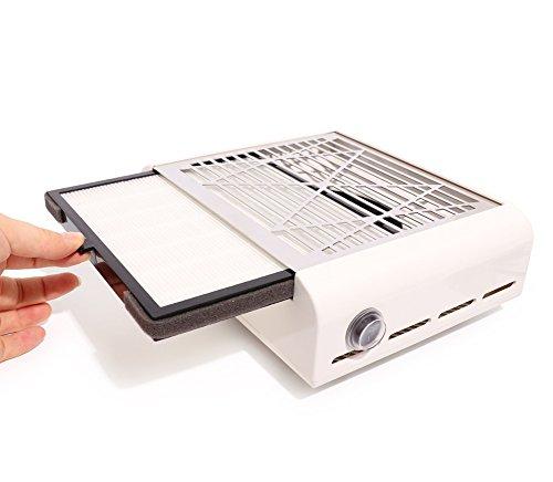 STARNAIL 40W Tabelle Nagel Staubsauger Hoch Leistung Absaugung Staub Kollektor Maschine Nägel Ventilator Professionel Maniküre Pediküre Kunst Ausrüstung -