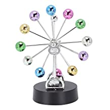 Perpetual Motion, Physics Mechanics Science Toys, Newton's Cradle, Kinetic Art Asteroid, Revolving Ball Rotation Perpetual Motio, Balance Balls Desk Toy Home Office Desk Decoration