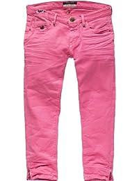 Maison scotch jeans pour femme 7/8 12251287721–moule à lA fermeture éclair-coupe sKINNY-gARMENT dYE