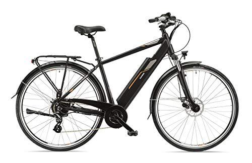 """TELEFUNKEN E-Bike XC921 Expedition - Bicicletta elettrica da Uomo, in Alluminio, 28\"""", Cambio Shimano Acera a 8 Marce, Pedelec, con Motore Posteriore da 250 W, 13 Ah, Batteria da 36 V"""