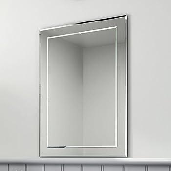 500 X 700 Mm Rectangular Bevelled Designer Bathroom Wall Mirror MC148