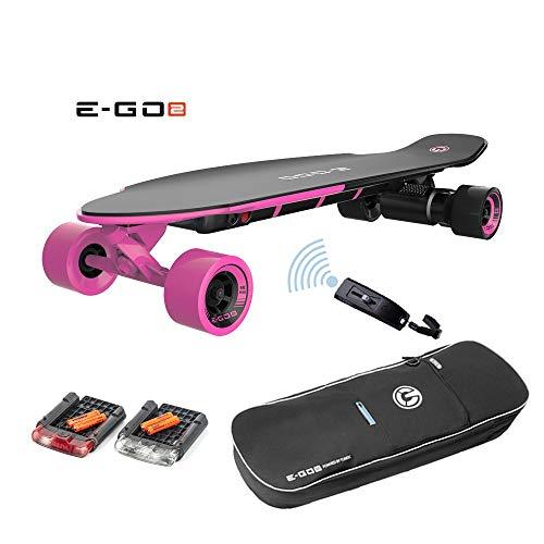 DROHNENSTORE24.DE ...DER DROHNEN-GURU Yuneec EGO 2 E-Longboard Hot Pink Plus Transporttasche, LED Licht und weiteres Zubehör