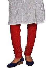 Chhipa Cotton Plain Women Churaidar Salwar Red