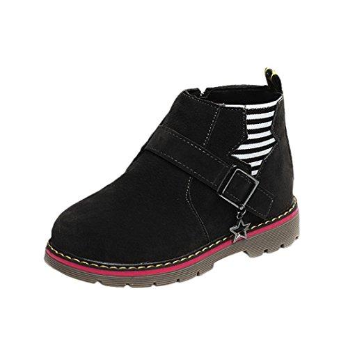 Martin Schuhe Jamicy® Winter heiße Verkaufs Baumwoll Stiefel klassische Schuhe rutschfeste halten warme Sport Freizeit schuhe Für Jungen mädchen (EU:25, (Herren Verkauf Zum Boots)