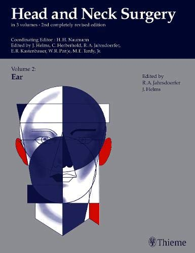 Ohr-plastischen Chirurgie (Head and Neck Surgery, 3 Vols. in 4 Pts., Vol.2, Ear (Head & Neck Surgery))