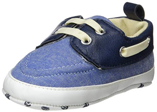 ZIPPY Baby Jungen Zapatos Náuticos Pre-Walker Slipper, Blau (Blue Chambray 1177), 18/19 EU -