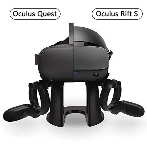 Ritapreaty VR Ständer, Controller-Halterung Headset-Displayhalter für Oculus Rift S Oculus Quest Headset-Touch-Controller