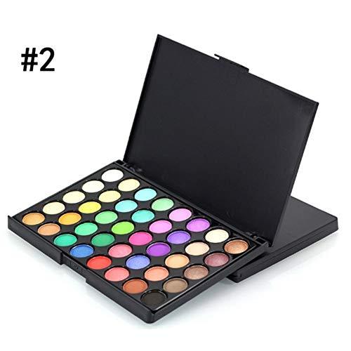40 Colors Matte Eyeshadow Palette Makeup Eye Shadow Makeup Glitter Waterproof Lasting Makeup
