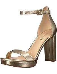 cf12ddc113a Nine West Women s Dempsey Metallic Heeled Sandal