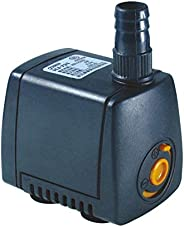 Hengbo 5W Submersible Water Pump 350L/H (92GPH Lift 0.6M) for Fountain, Aquarium, Pond, Hydroponics-HJ-531