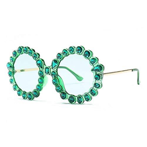 Thirteen Runde Große Gerahmte Sonnenbrille Anti-UV Geeignet Für Dekoration, Sonnenschutz, Reisen Im Freien, Einkaufen, Reisen, Fahren, Geeignet Für Eine Vielzahl Von Gesichtstypen. (Color : E)