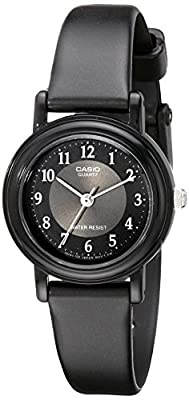 Casio LQ139A-1B3 Don't Use - Reloj de Pulsera Mujer, Resina, Color Negro