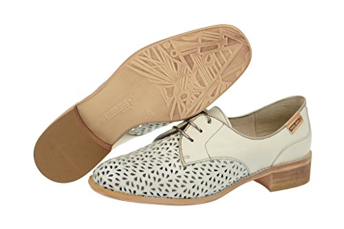 Pikolinos  877-9527a Nata-onyx, Chaussures à lacets et coupe classique femme Beige