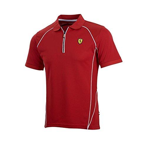 2015Scuderia Ferrari F1Herren Poloshirt 'performance', Sportlicher Stil. schwarz - schwarz