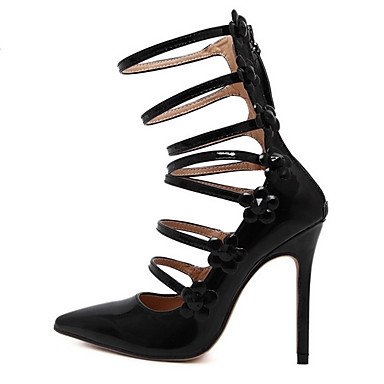 Moda Donna Sandali Sexy donna tacchi Primavera / Estate / Autunno / Inverno Comfort PU Wedding / Party & sera abito / Stiletto Heel Nere Black