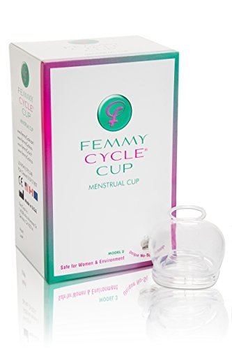 FemmyCycle Menstrual cup/ Copa Menstrual LOW CERVIX