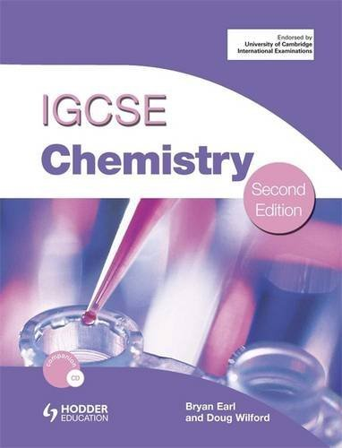 Cambridge IGCSE Chemistry second edition + CD
