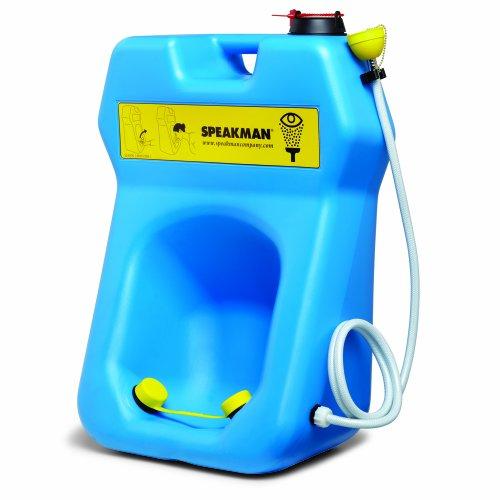 Speakman SE-4320 Gravity Flow Portable Eyewash with Drench Hose by Speakman