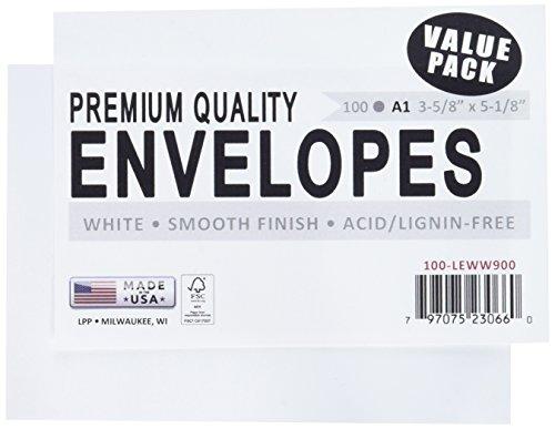 Leader Papier Produkte Umschläge A1, weiß