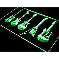 ADVPRO St4-s091 - Señal de neón LED para guitarras