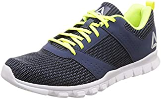 Reebok Men's Breeze Lp Black/Smoky Indigo Running Shoes-7 UK/India (40.5 EU)(8 US) (DV7853)