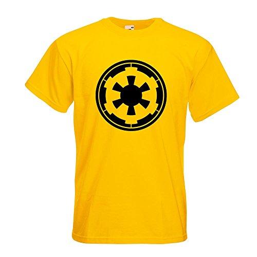 KIWISTAR - Galaktisches Imperium T-Shirt in 15 verschiedenen Farben - Herren  Funshirt bedruckt Design