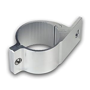 Universell passende Aluminium-Rohrschelle ø 63 und 63,5 mm für Lampenbügel, Frontbügel, Überrollbügel etc. 63-63,5mm.