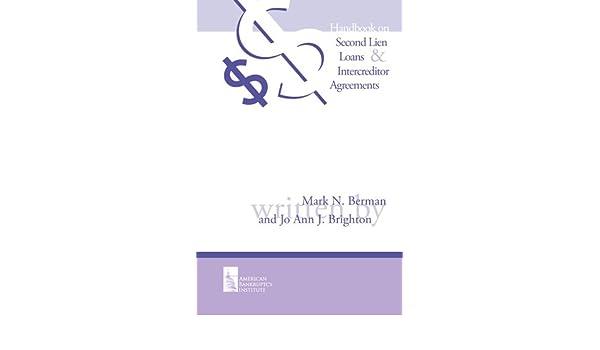 Handbook On Second Lien Loans And Intercreditor Agreements Ebook Jo