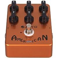 Guitarra con pedal de efecto de sonido americano Bipass Joyo JF-14