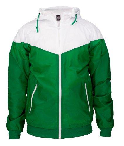 Urban Classics Herren Jacke Bekleidung Arrow Windrunner Green