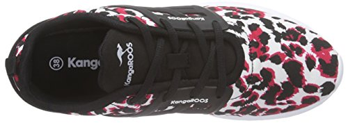 KangaROOS K-x 8203 Damen Sneaker Mehrfarbig (pink leo print 669)