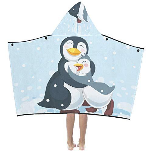 Warm Company Heart Hug Weiche warme Baumwolle gemischt Kinder verkleiden sich mit Kapuze tragbare Decke Badetücher werfen Wrap für Kleinkinder Kind Mädchen Jungen Größe Reise Picknick Schlaf -