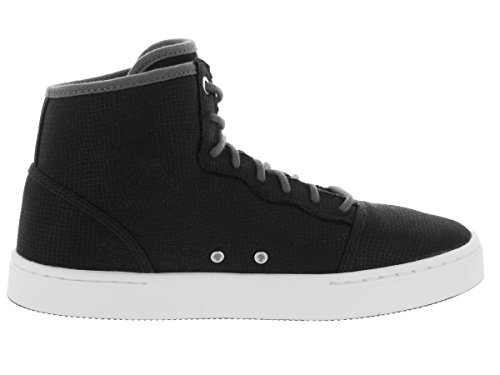 Nike Jordan Jasmine Gg, Chaussures de Running Entrainement Fille Noir / argenté / gris / blanc (noir / argenté métallique - gris foncé - blanc)