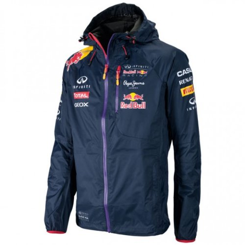 161f9a77c0d Infiniti Red Bull Racing Official Teamline Sponsors Rain Jacket