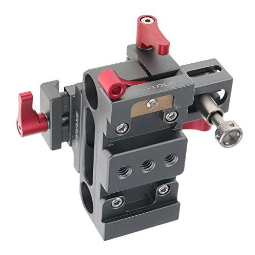 Baoblaze Quick Release Baseplate Montageplatte Schnellspanner Basis Plate fürSony A6000 / 6300/6500 DSLR Kameras -