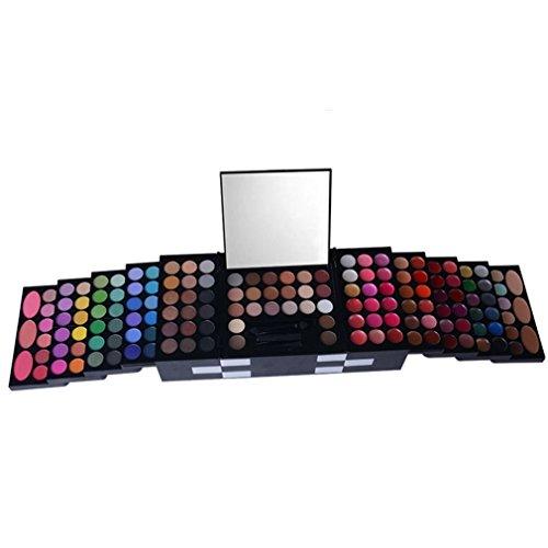 Pure Vie® 149 Couleurs Fard à Paupières Correcteur et Fard à Joues Rouge à Lèvre Palette de Maquillage Cosmétique Set - Convient Parfaitement pour une Utilisation Professionnelle ou à la Maisons