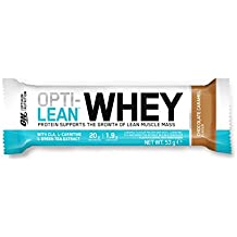 OPTIMUM NUTRITION Lean Whey Bar Chocolat Caramel 12 barres Protéinées de 53g