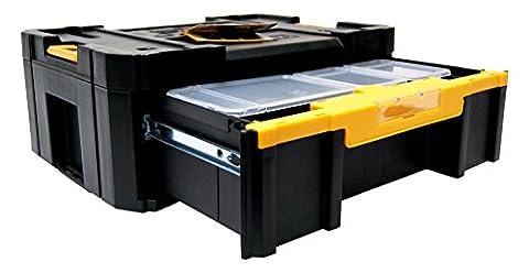 DeWalt DWST1-70705 DWST1-70705: Transportbox mit Schublade & Insetbox TSTAK Box III