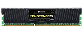 Corsair CML8GX3M1A1600C10 Vengeance LP 8GB (1x8GB) DDR3 1600 Mhz CL10 Mémoire pour ordinateur de bureau performante avec profil XMP. Noir (B008E3M4TU) | Amazon price tracker / tracking, Amazon price history charts, Amazon price watches, Amazon price drop alerts