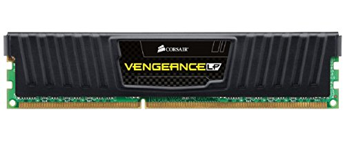 Corsair CML8GX3M1A1600C10 Vengeance Low Profile 8GB (1x8GB) DDR3 1600 Mhz CL10 XMP Performance Desktop Memory Schwarz
